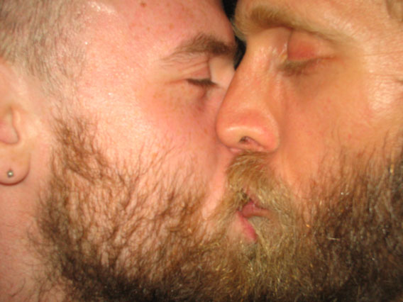 from Elisha two gays kissing
